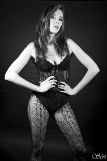 Photo sexy femme sous vêtements