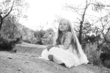 petite fille soleil photo